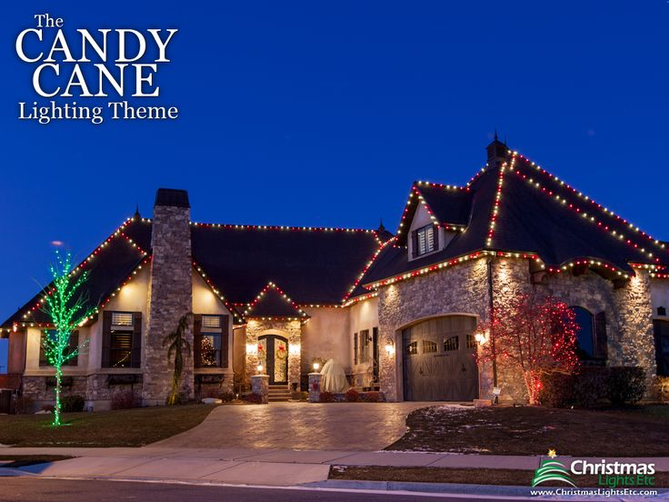 Outdoor Christmas Lights Ideas For The Roof Decorating