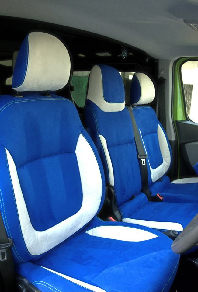 Bespoke Upholstery Made To Order As Part Of A New Van Conversion At Sussex Campervans In