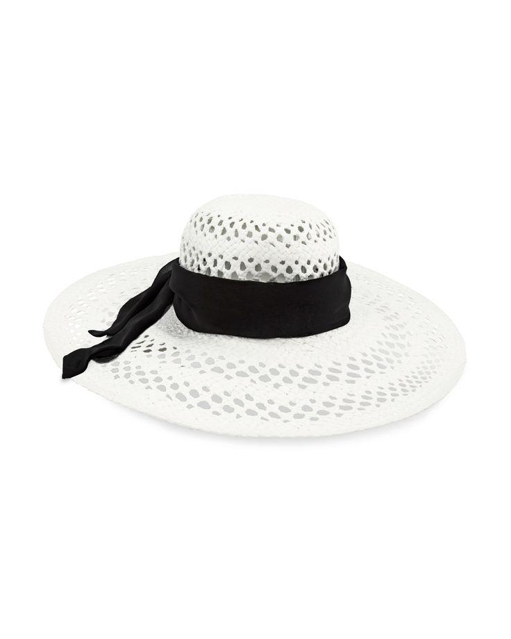 Chico's Sash-Wrapped Sun Hat #chicos