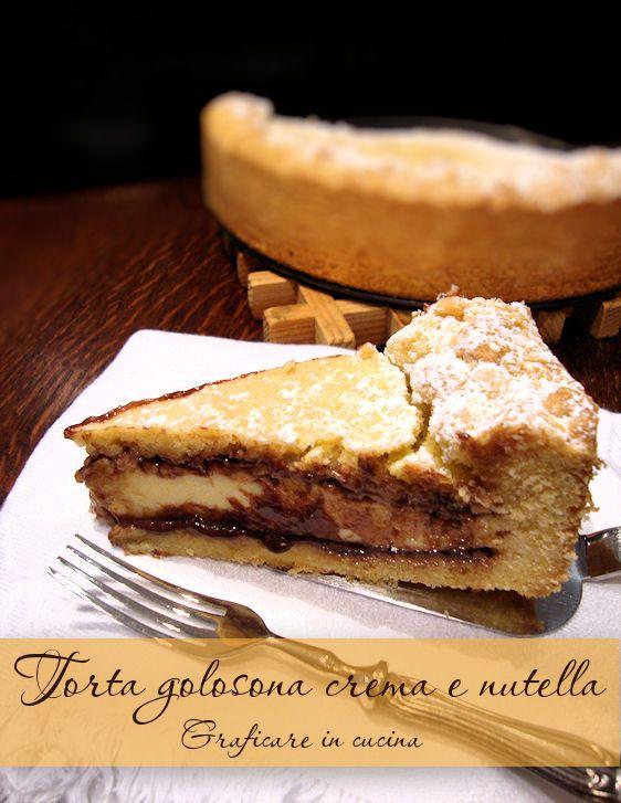 Torta golosona crema e nutella