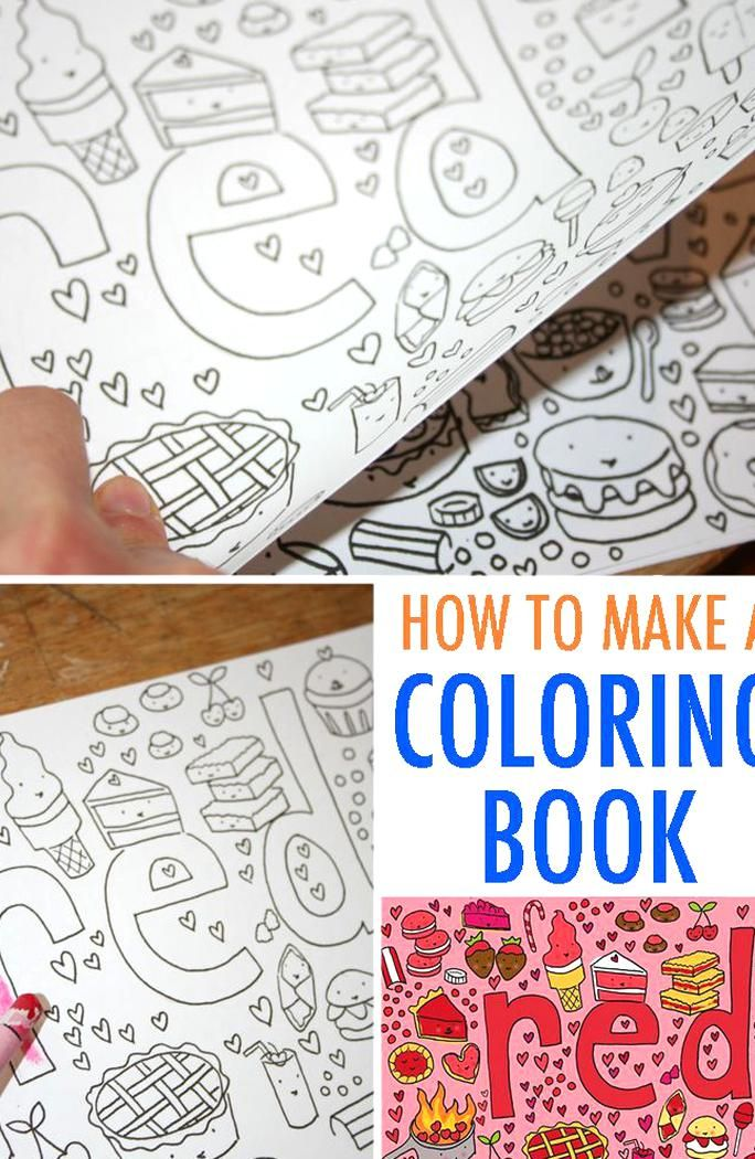 - Coloring Books Are Fun For All Ages Learn How To Make Your Own Coloring Book  For A Fun Artistic Skill-bui… In 2020 Diy Coloring Books, Coloring Books,  Kids Coloring Books