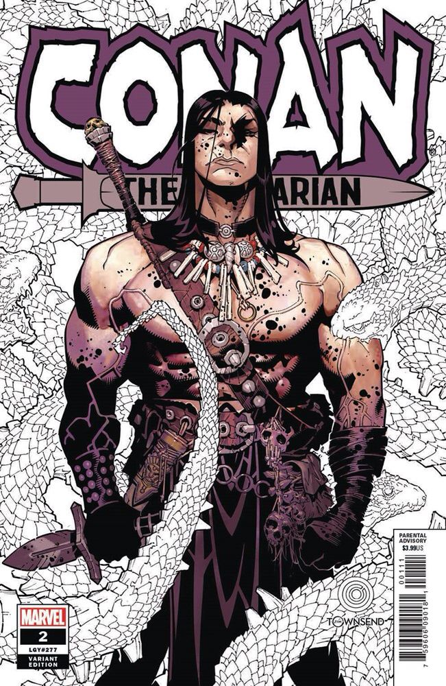 Conan the Barbarian vol 3 #2 | Variant cover art by Chris Bachalo & Tim  Townsend