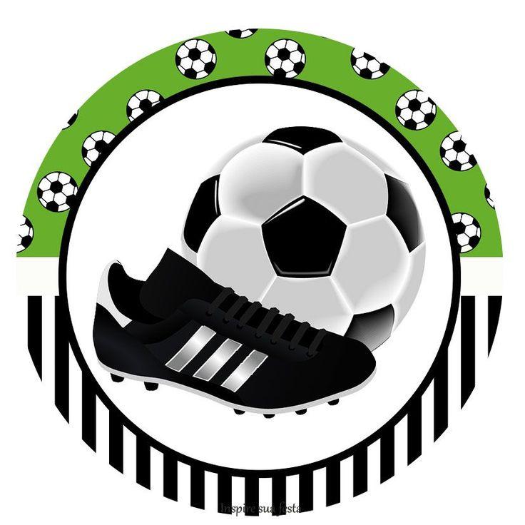 Kit imprimible gratis de futbol.