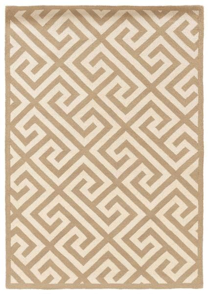 The magical Linon SILHOUETTE RUG-SH06 Beige/White Area Rug is a hand hooked weave of 100% new wool with free shipping and no tax at Incredible Rugs and Decor.