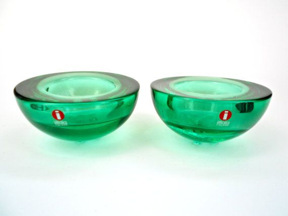 Iittala candle holder (2x) ... Ballo ... Annaleena Hakatie