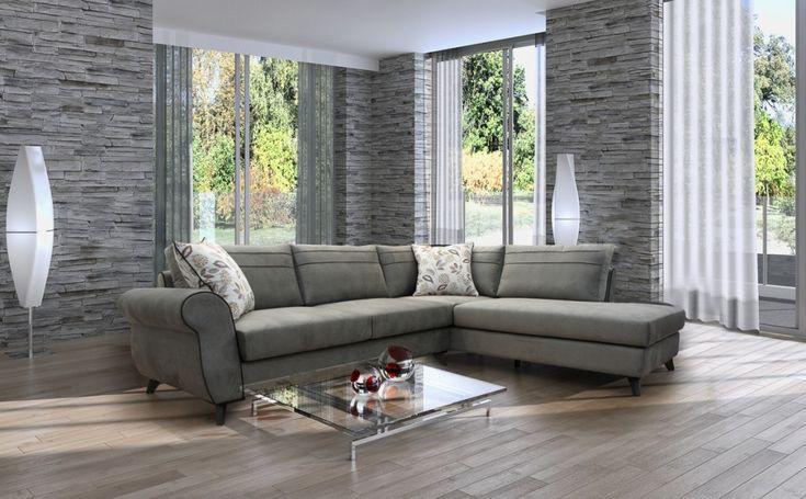 Γωνιακός καναπές G.Retro.Διατίθεται σε διαστάσεις και χρώματα της επιλογής σας.