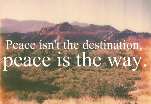 Be peace! Then it will show up in your life!  peace #HauteHippie :)