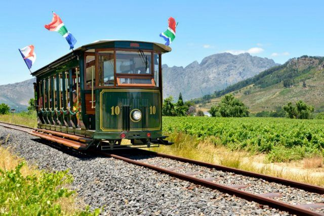 Franschhoek Wine Tram - GREAT FUN WITH A CROWD - BRING PLENTY BOOZE