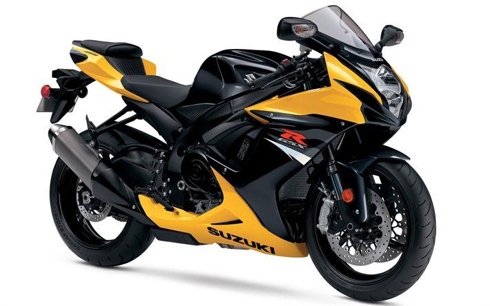 Descargar fondos de pantalla Suzuki GSX-R600, 2017 bicicletas, US-spec, motos deportivas, Suzuki