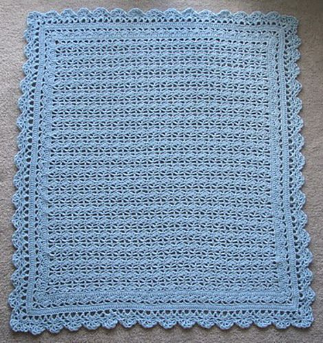 Ravelry: Heirloom Lace Baby Afghan pattern by Terry Kimbrough