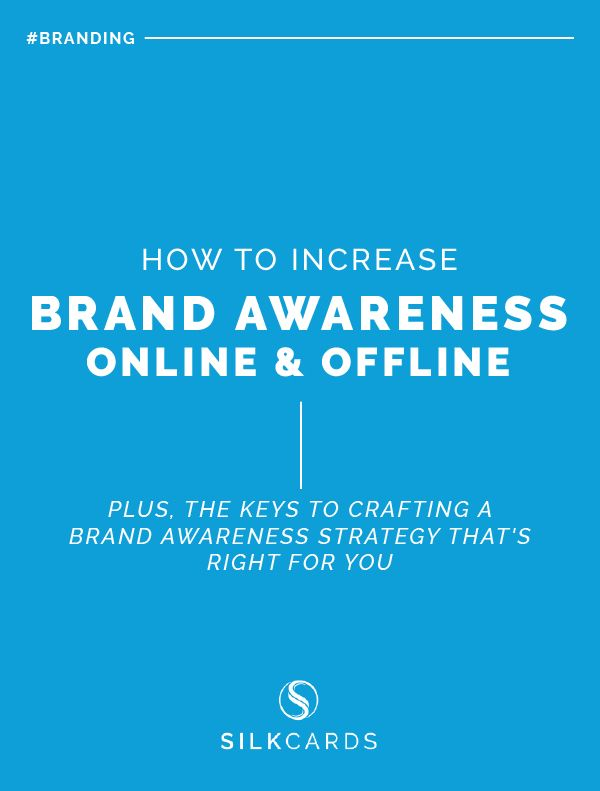 How To Increase Brand Awareness Online Offline Brand Awareness Online Business Opportunities Profitable Business