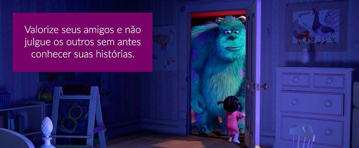 10 lições de vida para aprender com os filmes da Pixar