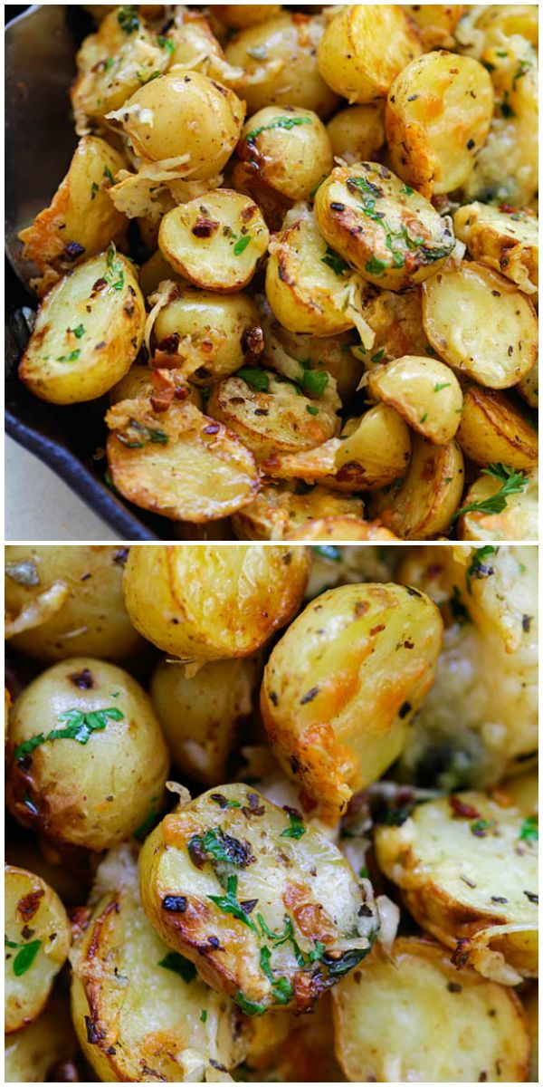 Italian Roasted Potatoes Roasted Chicken And Potatoes Roasted Potatoes Baby Potato Recipes