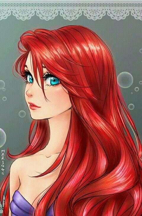 Disney the little mermaid ariel