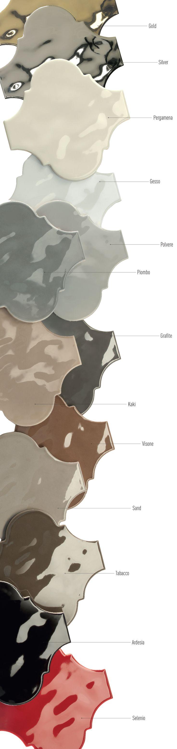 Arabesque Silk | Tonalite Tiles                                                                                                                                                     More