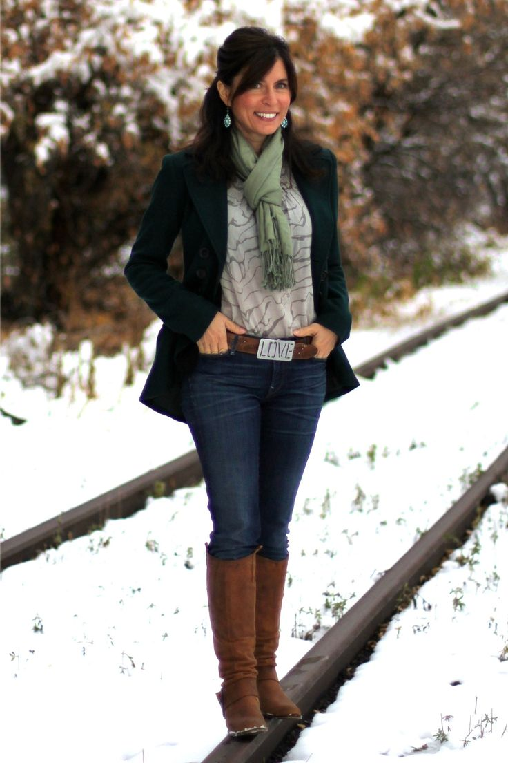 """Mrs. American Made - First snow - winter outfit - #MadeinUSA Outfit details: """"Squire""""..."""