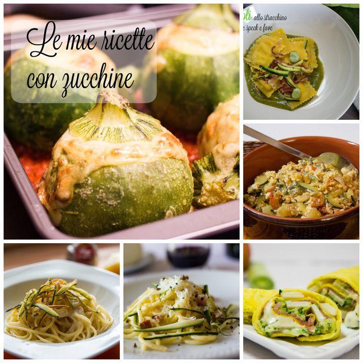 Le+mie+ricette+con+zucchine