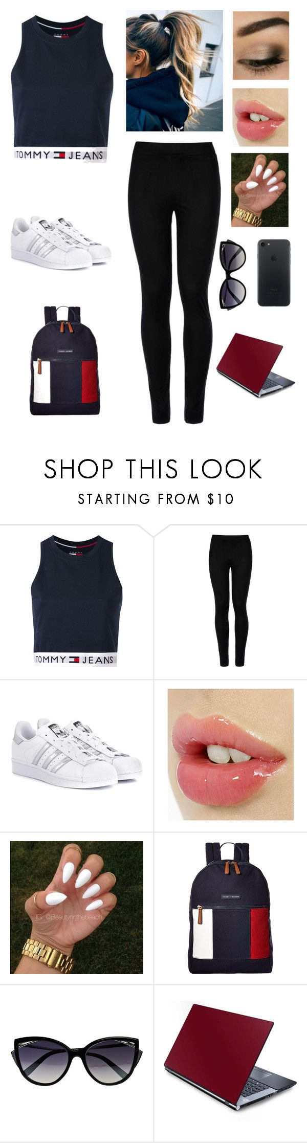 """""""Happy labor day weekend!!!"""" by rusher-11 ❤ liked on Polyvore featuring Tommy Hilfiger, Wolford, adidas Originals and La Perla"""