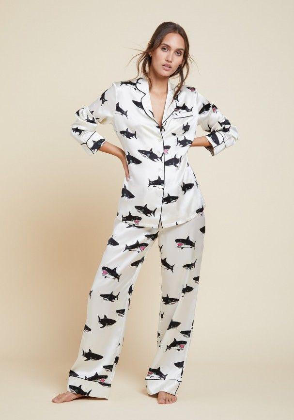 Lila Calvin Silk Pyjama  a0c27c358