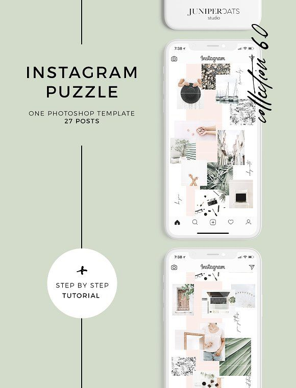 Raven Instagram Puzzle Template Raven Instagram Instagram