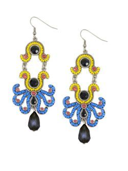 Cercei candelabru, multicolori New spring summer collection earrings