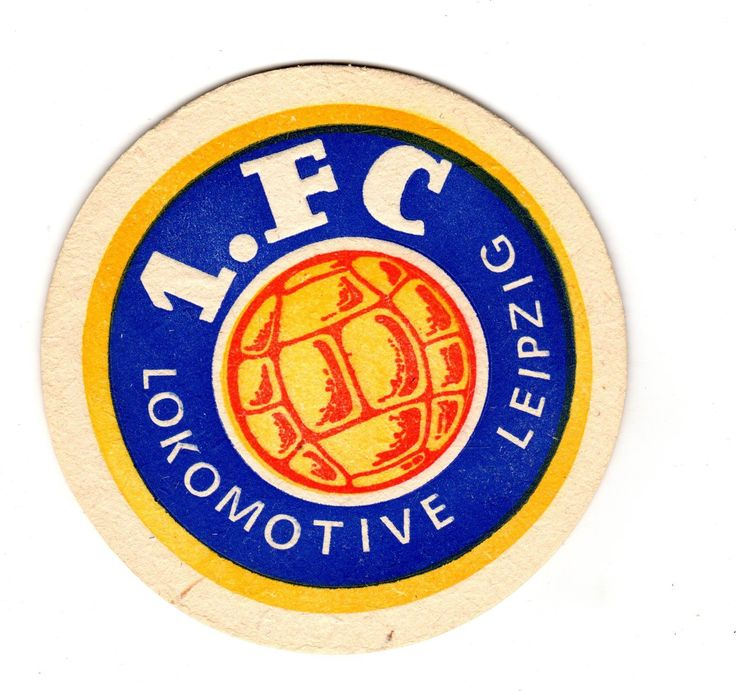 DDR-Fußball-Bierdeckel 1. Lokomotive Leipzig