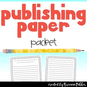 39 best writing papers images on Pinterest Ice cream cones, Cone - colored writing paper