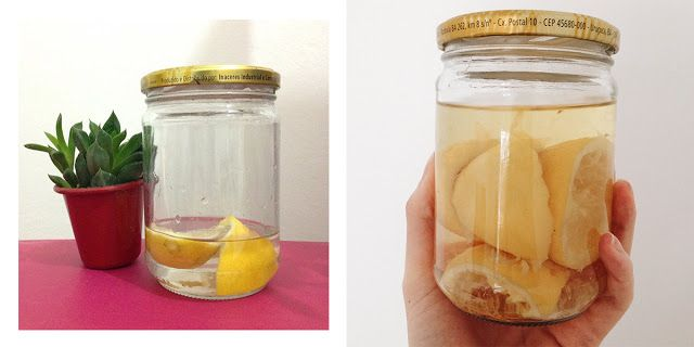 receita de desinfetante natural para fazer em casa: vinagre de álcool e limão | Um ano sem lixo