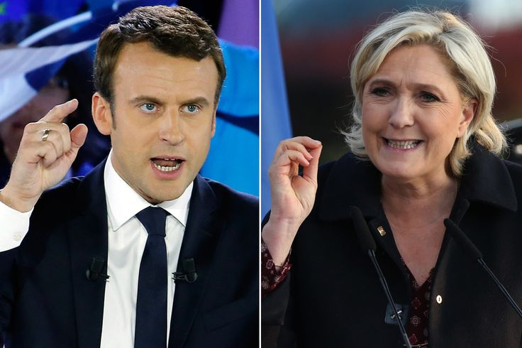 Macron claims victory over Le Pen in French presidential election, polls say
