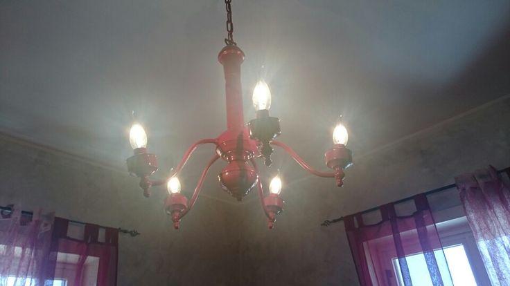 Riciclare un vecchio lampadario