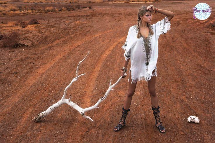 Tunic Salma・Out of Africa lookbook