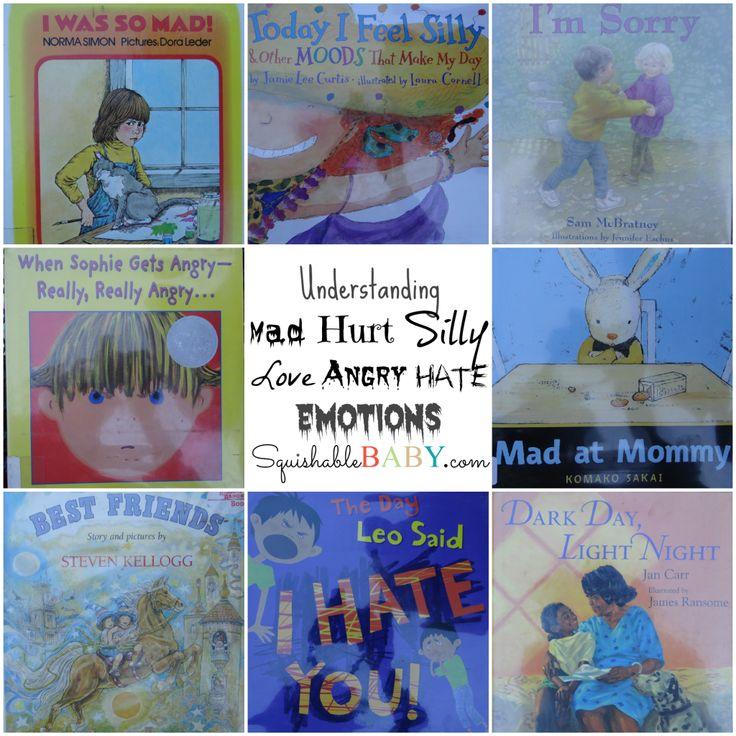 Part 1 – Understanding Emotions – Picture Books for Children