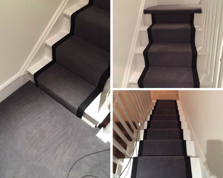Best 9 Best Grey Stairs With A Black Border As A Carpet Runner 400 x 300