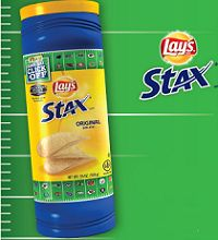 Reminder: The FREE Package of LAY'S STAX Crisps starts on every Thursday, at 8:25PM EST! on http://hunt4freebies.com/