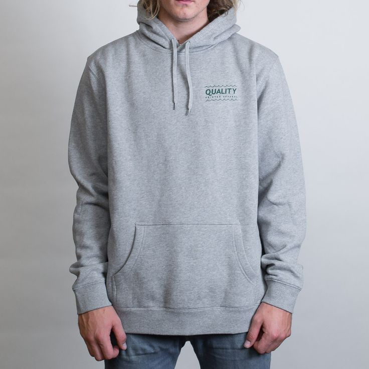 AS Colour Stencil Hoodie Leavers Gear - The Print Room NZ - Grey Marle