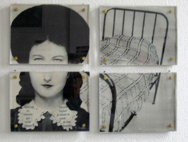 "Saatchi Art Artist Rita Lamontagne; Photography, ""Girl and bed"" #art"