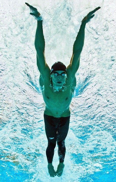 """Michael Phelps - """"No se le puee poner limite a algo, cuanto más sueñes más lejos llegaras"""""""