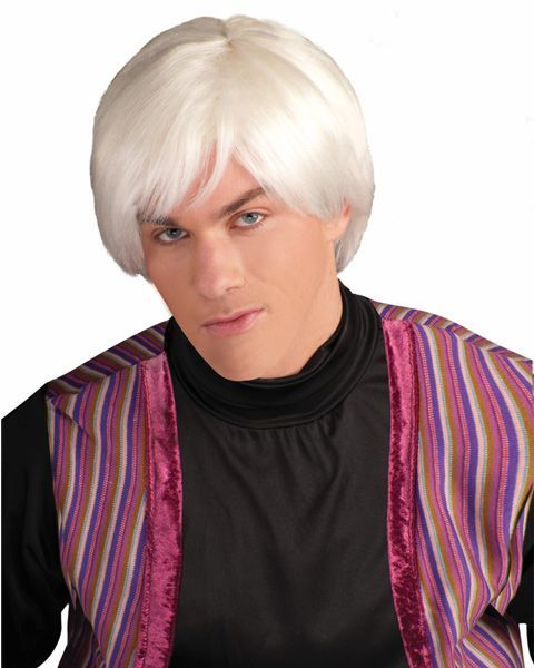 Wig for Andy Warhol Costume!
