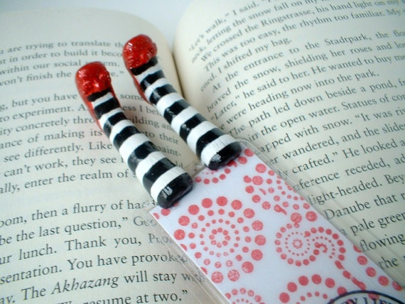 Wicked Witch Bookmark  Wizard of Oz Inspired   by BookmarkYourPage, $25.00