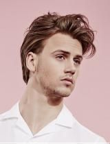 Mens Messy Hairstyle by Headmasters