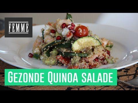 Lekker en gezond Quinoa recept - FEMME - YouTube