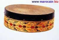 Le Bendir - Instrument de musique marocaine