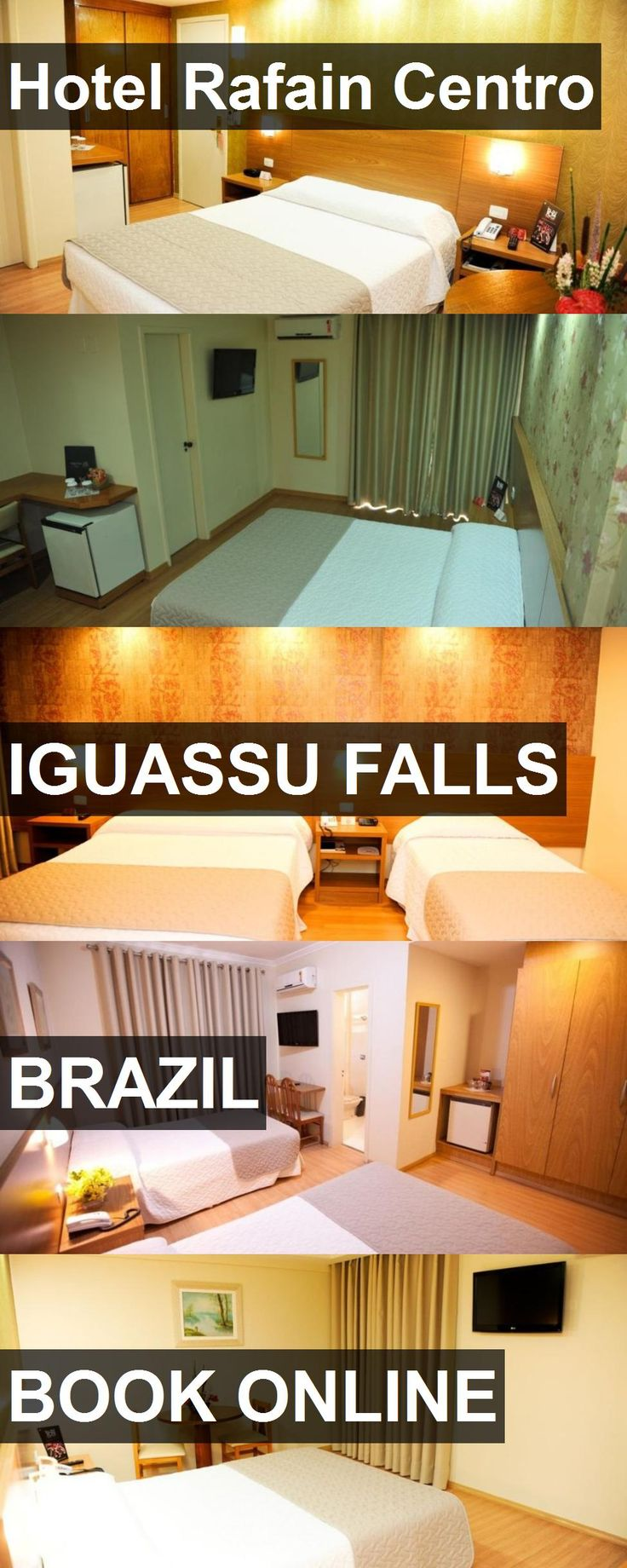 Hotel Hotel Rafain Centro in Iguassu Falls, Brazil. For more information, photos, reviews and best prices please follow the link. #Brazil #IguassuFalls #hotel #travel #vacation