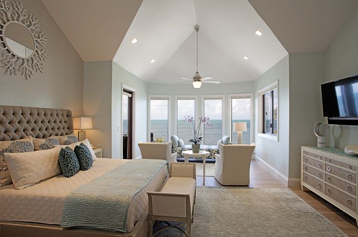 Master Bedroom In Beach House