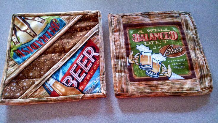 Beer Potholders!