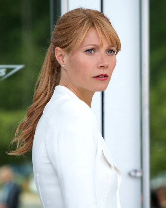 Gwyneth Paltrow as Pepper Potts, Iron Man 3.
