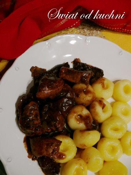 Polędwiczki wieprzowe w sosie balsamicznym