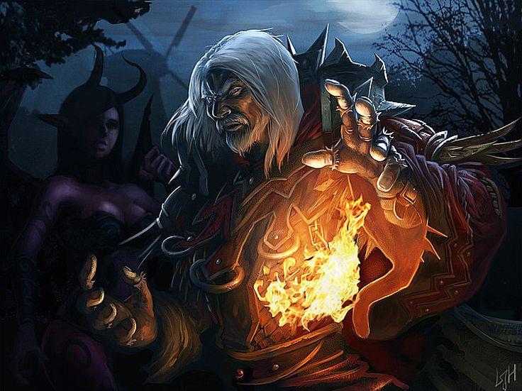 Warlocks Dragons: Human Warlock By ~drakefrog On DeviantART