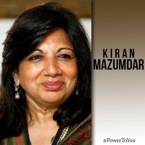 Kiran Mazumdar Shaw – Biocon  She is the CEO of healthcare pioneer Biocon. #PowerToYou for your innovative & contemporary contributions to the progress of science & chemistry all over the globe. #KiranMazumdar #Healthcare #StrongWilled #Independent #Contribution #Progress #Science #Chemistry #AcrossGlobe #Globe #Influential #Biocon #Innovative