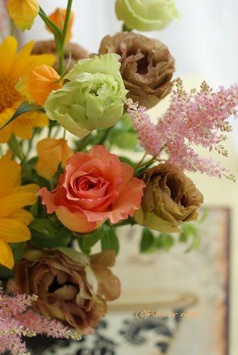 【今日の贈花】毎年届く♪ 誕生日祝のお花|Flower note の 花日記 (横浜・上大岡 アレンジメント教室)